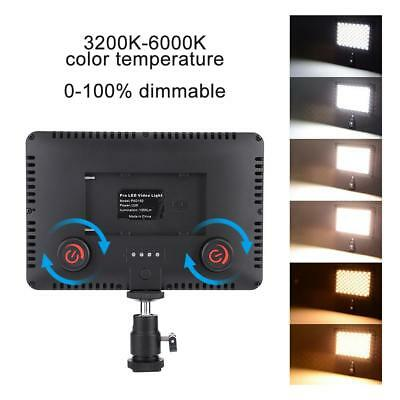 Pad 192 LED Video Light 3200-6000K for DSLR Camera DV Camcorder with Hot Shoe LS