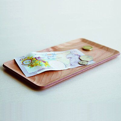 KINTO Nonslip Non Slip Rectangle Tray Slim Teak 45160 from JAPAN 5