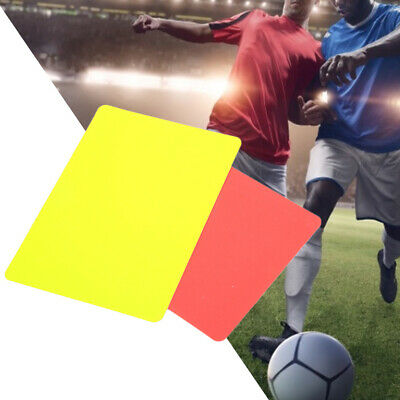 Sport Match Red//yellow Cards With Case+Pencil For Soccer Games Soccer Referee
