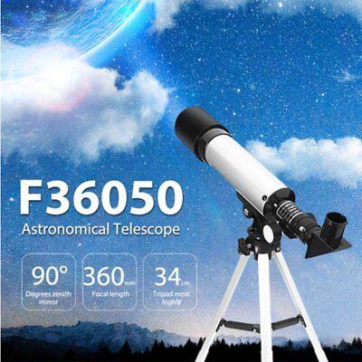 Telescopio Monoculare Astronomico Rifrangente Con Treppiede Cavalletto Stelle 8