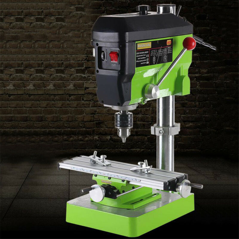 Mini Multi Working Table Milling Machine Bench Drill Vise
