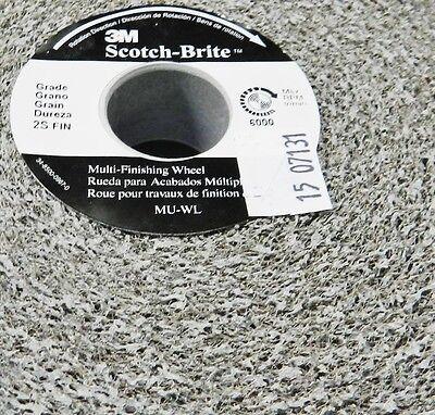 3m Abrasive 048011-93021 Scotch Brite Multi Finishing Wheel 6x1x1 3s
