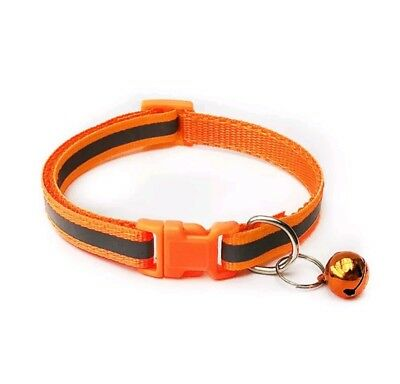 Reflective Dog Cat Kitten Collar Pet Puppy Adjustable Harness with Bell 8