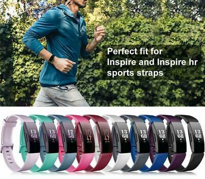 For Fitbit Inspire / Inspire HR Replacement Silicone Wristband Strap Watch Band 5
