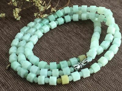 Certified Chinese-exquisite-hand-carved-jade-necklace-28inches 2037 3