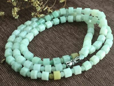 Certified Chinese-exquisite-hand-carved-jade-necklace-28inches 2037 5