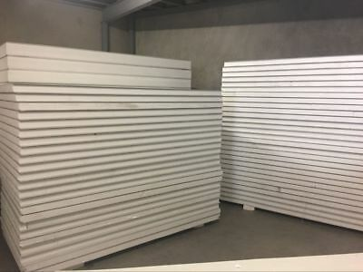 Insulated EPS Coolroom Wall panel/ Roof Panel thickless 75mm ,1180mm width/m2