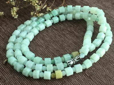 Certified Chinese-exquisite-hand-carved-jade-necklace-28inches 2037 4