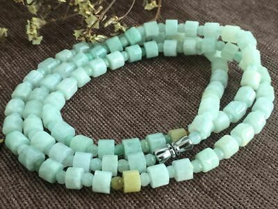 Certified Chinese-exquisite-hand-carved-jade-necklace-28inches 2037 6