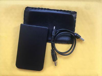 "2.5/"" 160 GB Black Portable External hard drive HDD USB 2.0 US seller"