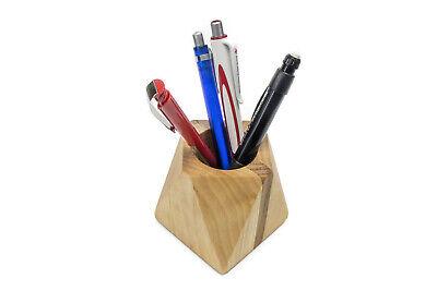 STIFTHALTER aus Holz STIFTEBOX Köcher STIFTABLAGE Utensilienbox STIFTEBECHER