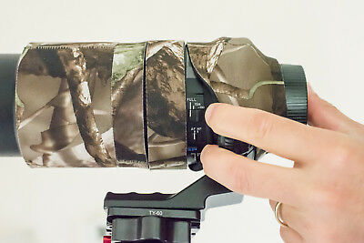 Camouflage Lens Cover for Tamron 150-600mm ( Neoprene Camo ) 3