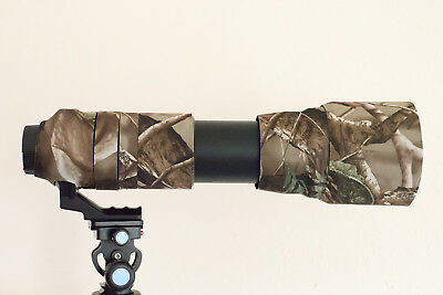 Camouflage Lens Cover for Tamron 150-600mm ( Neoprene Camo ) 2