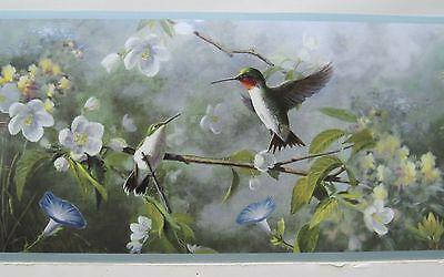 ALEXANDER JULIAN HUMMINGBIRDS  WALLPAPER BORDER