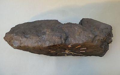 Unikat Uhr aus Kohle Steinkohle Bergmann Bergbau Batteriewerk groß 39 cm breit 5