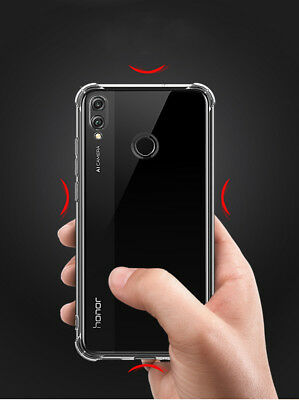 DD For Huawei Honor 8X / Honor Play Transparent Soft TPU Clear Case Skin Cover 4