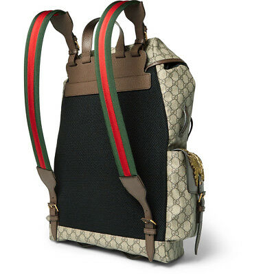 04c71daf47b ... Gucci Beige GG Supreme Disney Donald Duck Backpack 460029-K5I7T-8854  NEO 5
