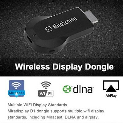 1080P WIRELESS WIFI HDMI TV Dongle Receiver Airplay For Samsung Galaxy J7  J5 J3