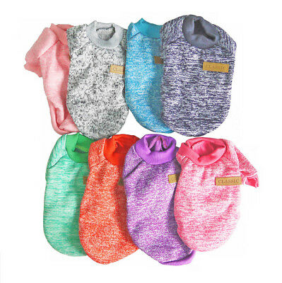 Clothes for Pet  SWEATER Chihuahua Yorkie Small Dog Coat Jacket Fleece Soft Warm 6