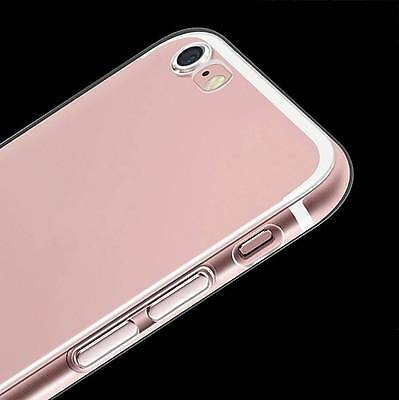 Ultra-Thin Clear Soft Silicone TPU Transparent Case Cover For iPhone 6S 7Plus XR 12