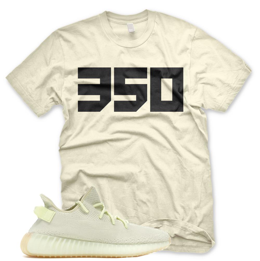 NEW 350 T Shirt for Adidas Yeezy 350 V2 BUTTER GUM