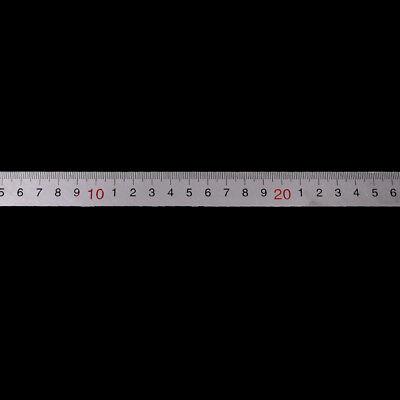30Cm En Acier Inoxydable Droit Mesure Règle Angle Outil Équerre 12 Pouce/_wf