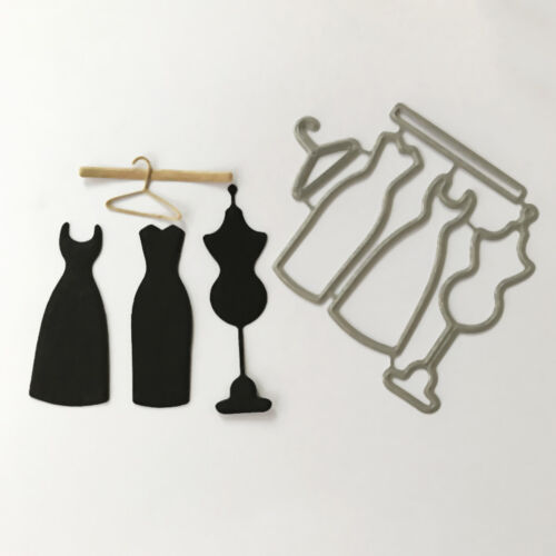 Dress hanger Design Metal Cutting Die For DIY Scrapbooking Album Paper Card PD 2