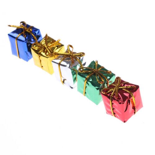 10X Dollhouse Miniature Box Christmas Dollhouse Decoration Gift Toy  @M 4