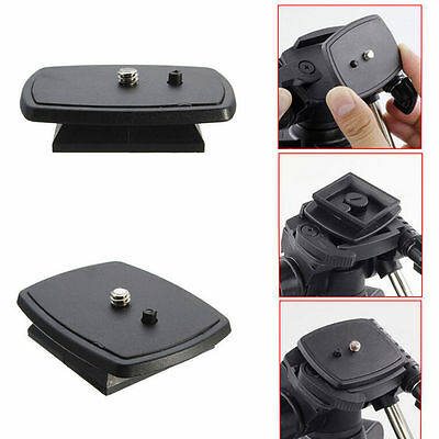 Tripod Quick Release Plate Screw Adapter Mount HeadFor DSLR SLR Digital Camera. 3