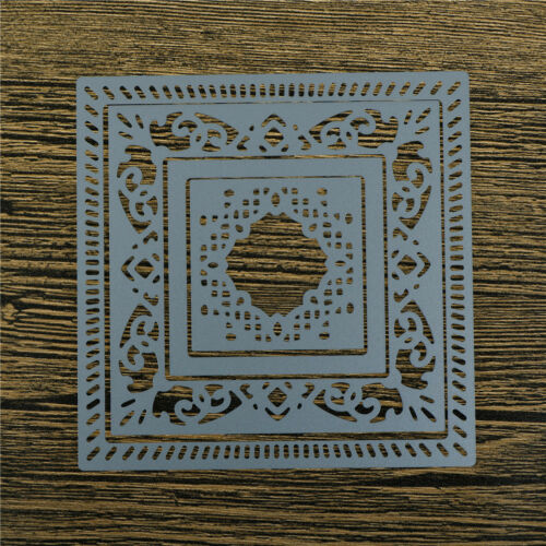 Square Hollow Lace Metal Cutting Dies For DIY Scrapbooking Album Paper CardGT 4