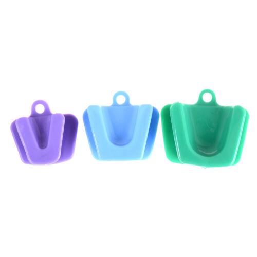 3pcs/set silicone bouche prop bloc de morsure fournitures dentaires  nw 3