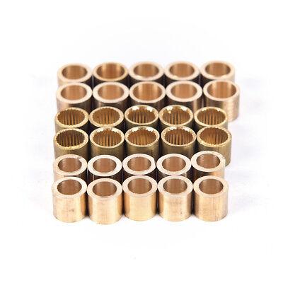 5Xbilliards snooker copper ferrule brass snooker pool cue ferrules cue repai ZSH