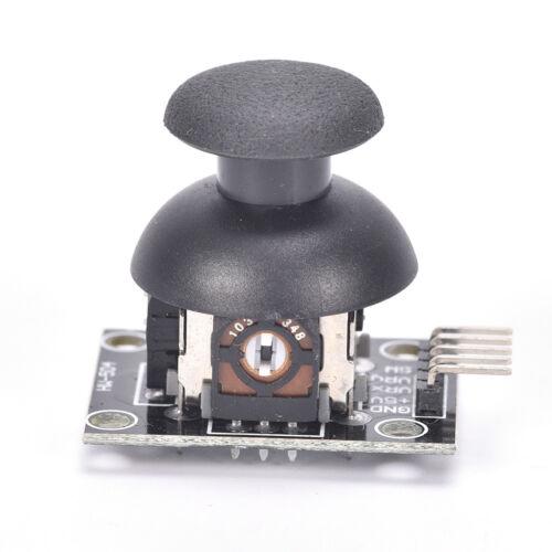 2PCS Dual-axis  Joystick Module PS2 Joystick Control Lever Sensor For Arduino AL 4