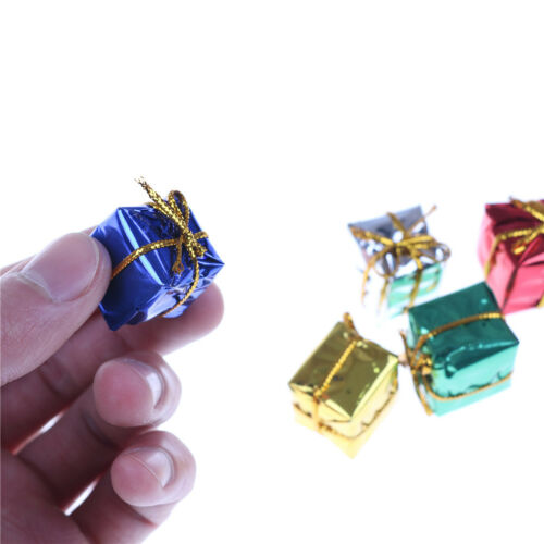 10X Dollhouse Miniature Box Christmas Dollhouse Decoration Gift Toy  @M 6