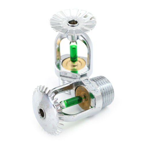 93℃ Upright Pendent  Sprinkler Head For Fire Extinguishing System Protection UK 6