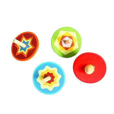 Colourful Light /& Music Spring Gyro Peg-Top Spinning Tops Kids Children Toy BJB