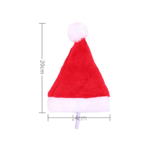 Christmas pet santa hat small puppy cat dog xmas holiday costume ornamentY lq 5