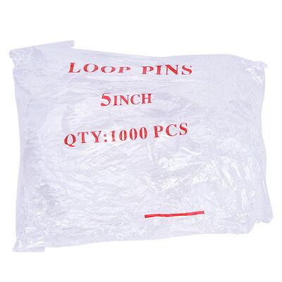 1000X/lot Loop Plastic Tag Ties Fastener Security Loop Snap Lock Plastic Tags~GQ 10