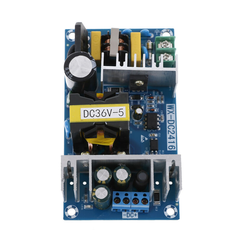 AC-DC 100-240V to 36V 5A 180W 50/60HZ Power Supply Switching Board Module dnTEC 4