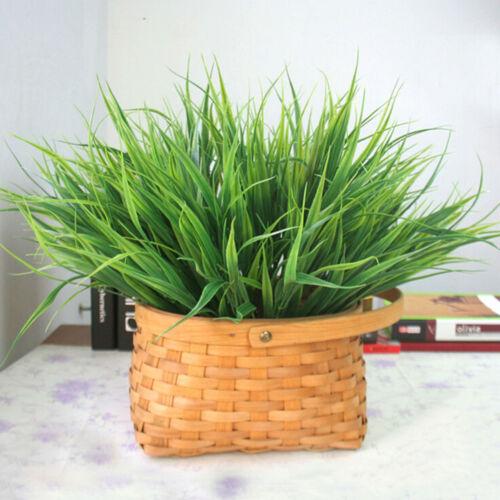 27cm künstlich gefälschte Plastik Gras Pflanze Blumen BÜROHAUS Kom