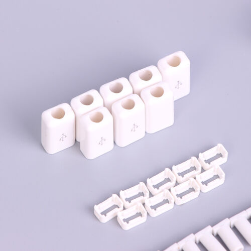 10Pc Micro USB 5Pin Welding Type Male Plug Connectors Charger Plug white blac ER 5