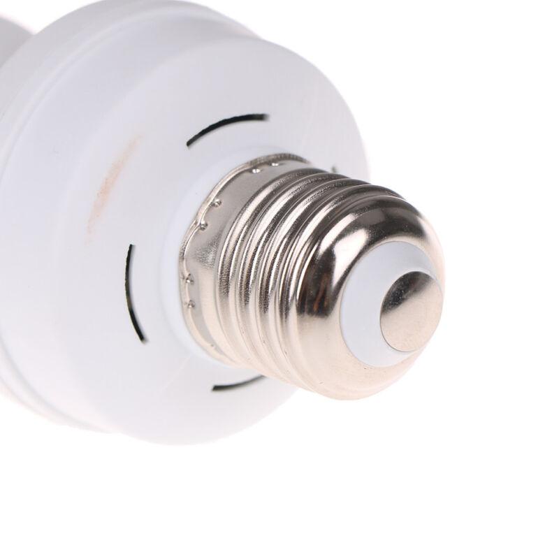 Infrared PIR Motion Sensor E27 LED Light Lamp Bulb Holder.Socket Switch BC 7