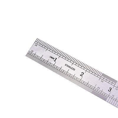 1PC Metric Rule Precision Double Sided Measuring Tool  15cm Metal Ruler Pip JB 7