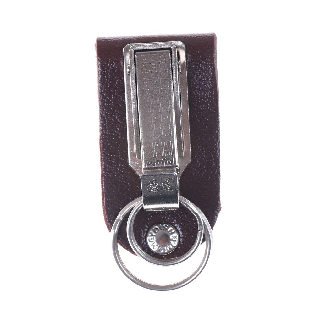 Llavero Metal Que Se Puede Acoplar Al Cinturon Desmontable Con Dos Anillas 4