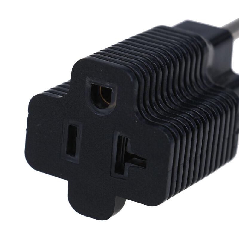 Household electrical adapters NEMA 5-15P male to NEMA 5-20R femaleAdapter 15- DS 5