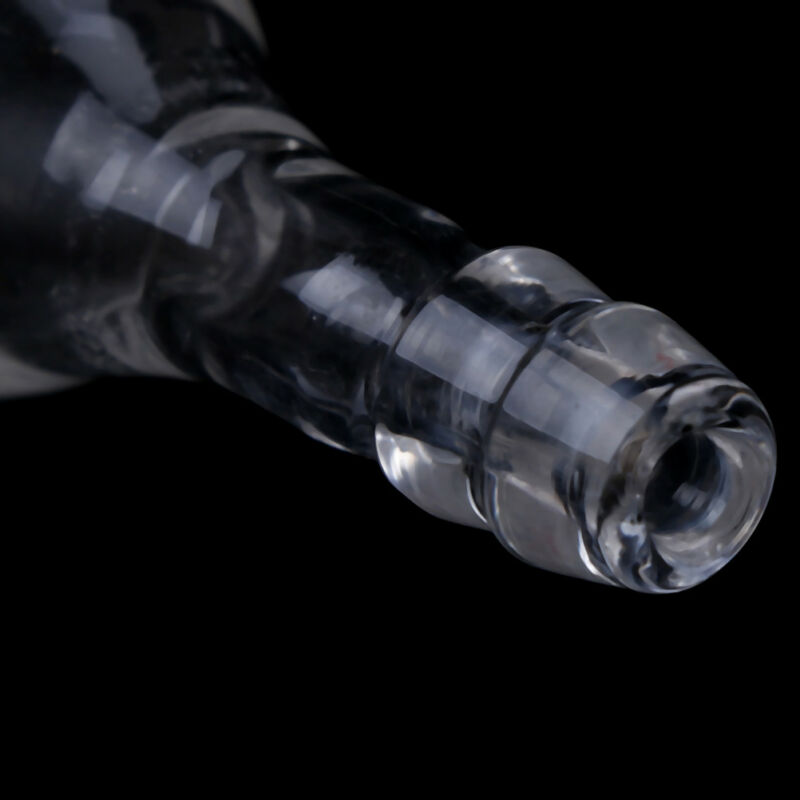 24/29 glass cone adapter to rubber tube,straight connection,hose inlet adapterGV 4