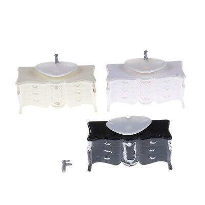 Möbel Puppenhaus Möbel Mini Waschbecken Badezimmer Wash Geräte Home Storage JF