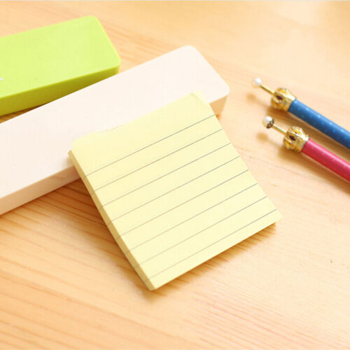 Sticky Notes Notebook Memo Pad Bookmark Paper Sticker Notepad Stationery Cl 7