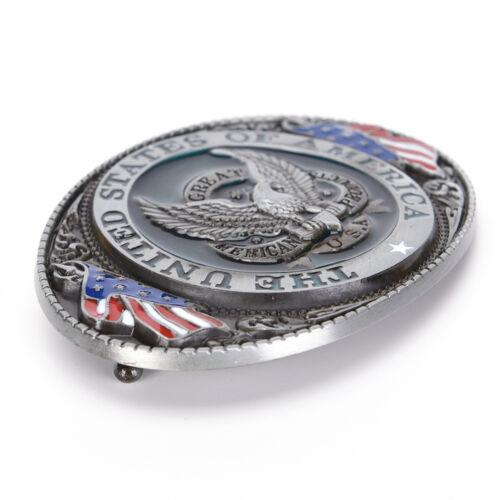 2 sur 6 American Flag Eagle Metal alliage mode hommes boucle de ceintureZJFR aee868d3b9e