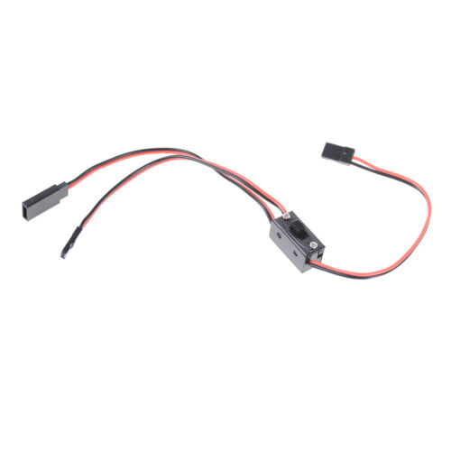 3 Way Power On/Off Switch With JR Receiver Cord For RC Boat Car Flight np 5
